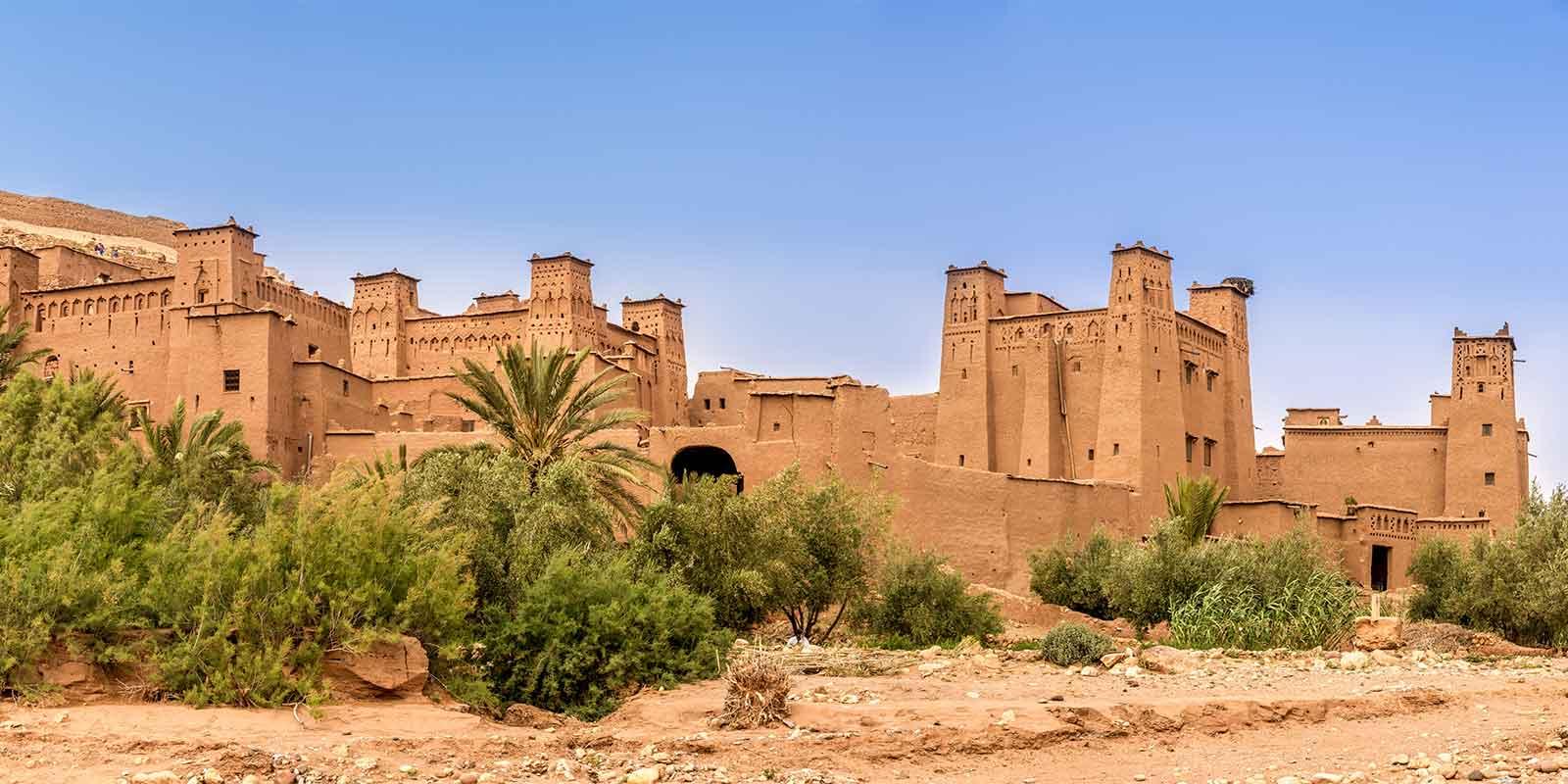 Ait Benhaddou kasbah in Morocco