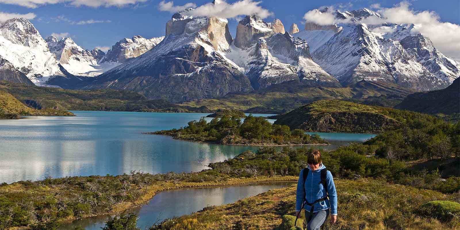 Hiker in Patagonia