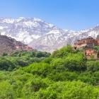 Kasbah de Toubkal in the Atlas Mountains of Morocco