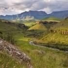 Giants Castle in Drakensberg Mountains