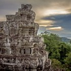 Phnom Bakheng temple at Siem Reap in Cambodia