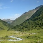 Valley in Tien Shan mountains, Kyrgyzstan