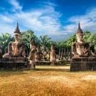 Wat Xieng Khuan Buddha Park in Vientiane Laos