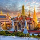 Grand Palace and Wat Phra Keaw in Bangkok