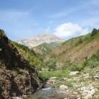 Chimgan Mountains in Tashkent