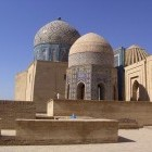 Shahi Zinda Necropolis in Uzbekistan