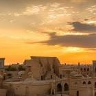 Sunset over Khiva in Uzbekistan