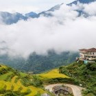 View of Sapa Valley in northern Vietnam