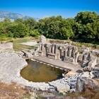 Butrint Roman ampitheatre UNESCO World Heritage site