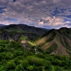 Garni mountain scenery