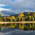Lake in Vanadzor Armenia
