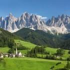 Village in the Austrian Alps