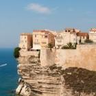 Bonifacio old town on the island of Corsica