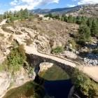 Albertacce Bridge on the island of Corsica