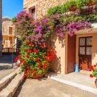 Picturesque village of Piana on the island of Corsica