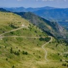 Pailheres Pass in the Pyrenees on the Cathar Footpath