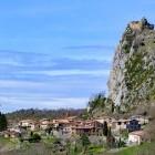 Roquefixade Cathar Castle on the historic Cathar footpath