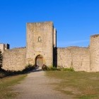 Puivert Castle on the route of the Cathar Footpath