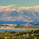 View from Agii Deka of Corfu Town on the Greek island of Corfu