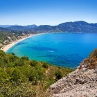 Agios Georgios beach on the Greek island of Corfu