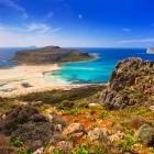 Balos beach on the Greek island of Crete