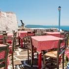 Greek taverna on the island of Alonissos
