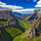 Vikos Gorge in Pindos mountains
