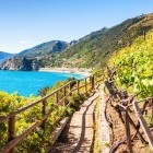 Scenery of the Cinque Terre in Italy