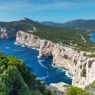 View over Capo Caccia in Sardinia