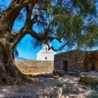 Ancient church in Golgo on Sardinia