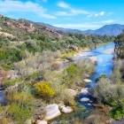 Picturesque Sa Picocca River in Sardinia