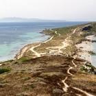 Peninsula on Sinis Loop trail in Sardinia