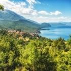Fishing village on Lake Ohrid