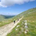 Hikers in Pelister National Park