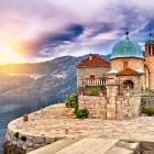 Castle in Kotor Bay Montenegro