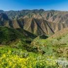 Alojera on island of La Gomera in the Canary Islands