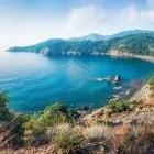 Bay near Tekirova village in province of Antalya