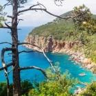 Coastal scenery of the Lycian Way
