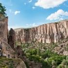 Ihlara Gorge in Capadoccia