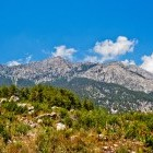 Taurus mountains in Turkey