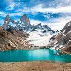 Fitz Roy mountain and Laguna de los Tres in Los Glaciares National Park