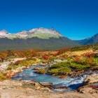 Hikers in Tierra del Fuego National Park