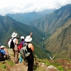 Hikers on the Inca Trail