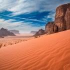 San dunes at Wadi Rum desert in Jordan