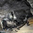 Devils Throat Cave in Rhodope Mountains in Bulgaria