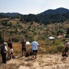 Hiking through Vodni Pat Village in Rhodope Mountains of Bulgaria