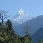 Ghandruk in the Annapurna range Nepal