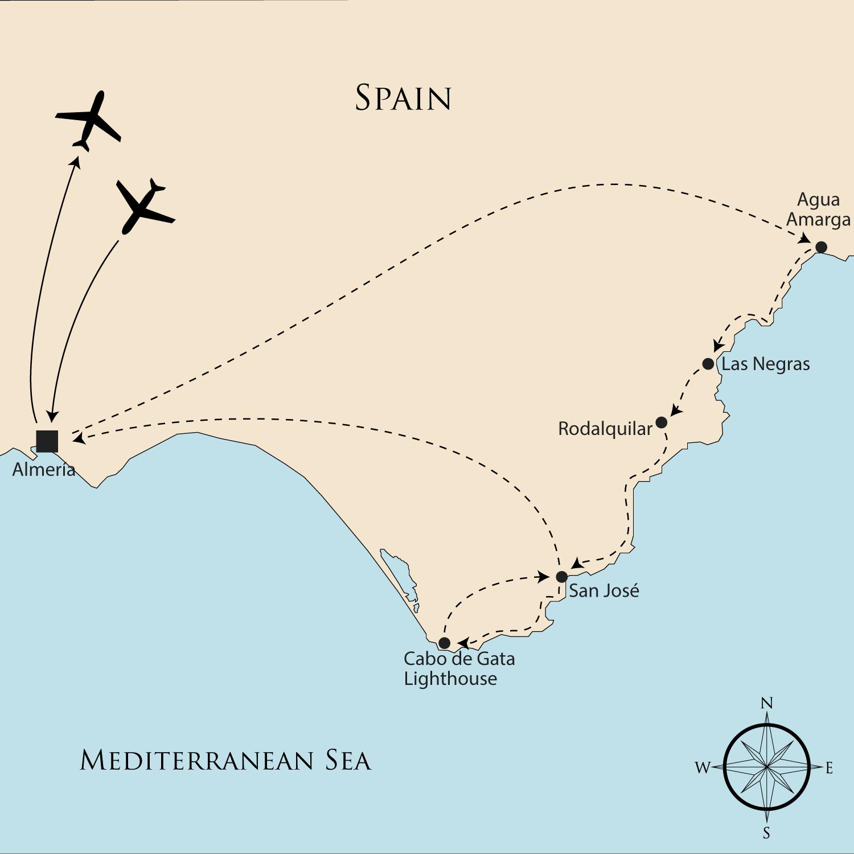Walking Holidays In Spain Almeria Coastal Way Self Guided