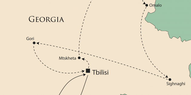 Route map for <span></span>