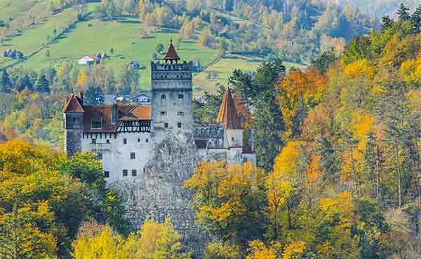 Bran Castle - Dracula's castle - Transylvania
